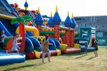 Inflatable trampolines, swimming pools and other toys for rent in Kaunas and Kaunas district