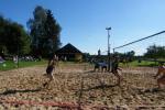 Площадка для пляжного волейбола возле Друскининкай
