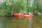 Kajaks für Miete im Kaišiadorys Bezirk durch den Fluss Strėva