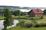 Bath in homestead, in Trakai area
