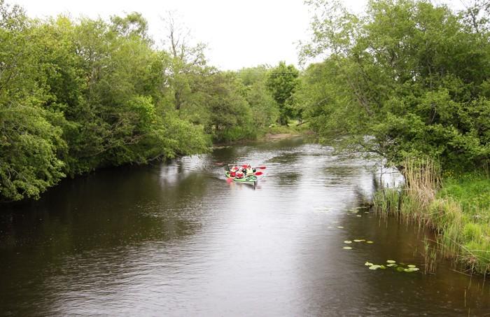 Походы на байдарках по реке Швянтойи, Клайпедский уезд, Литва - 4