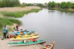 Походы на байдарках по реке Швянтойи, Клайпедский уезд, Литва - 11