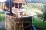 "Bath and hot tub in Trakai region, homestead ""Gerviu takas"""