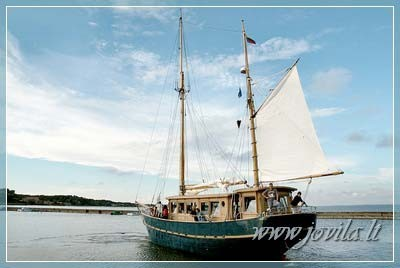 Ship, yacht, boat rental in Klaipeda, Nida, Minge, Curonian Lagoon - 8