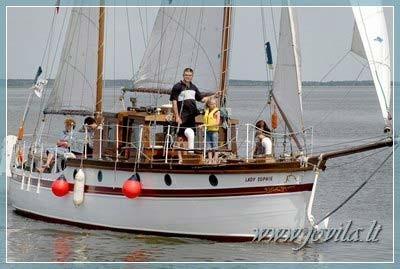 Ship, yacht, boat rental in Klaipeda, Nida, Minge, Curonian Lagoon - 9