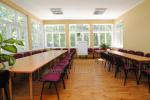 Conference hall, cafe in guest house in Druskininkai Parko vila