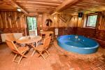 Sauna with a sitting room, jacuzzi and billiards - 4