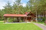 Das Blockhaus mit einer Küche - 3