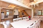 Das Blockhaus mit einer Küche - 2