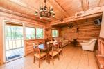 A log guest house with kitchen - 8