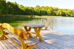Homestead environment: territory, lake, pier, volleyball court, table tennis - 11