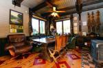 Haus für bis zu 13 Personen: Wohn-Esszimmer, eine voll ausgestattete Küche, 5 Schlafzimmer, Terrasse, Balkon, WC - 10