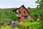 Haus für bis zu 13 Personen: Wohn-Esszimmer, eine voll ausgestattete Küche, 5 Schlafzimmer, Terrasse, Balkon, WC - 1