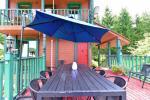 Haus für bis zu 13 Personen: Wohn-Esszimmer, eine voll ausgestattete Küche, 5 Schlafzimmer, Terrasse, Balkon, WC - 14