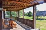 A large log house - 4