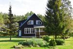 Haus mit Bankettsaal und Sauna für bis zu 18 Gäste. Preis - 280 € pro Nacht - 1