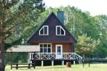 Ferienhütte für bis zu 8 Personen. Preis - 140 € pro Nacht - 2