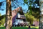 Ferienhütte mit Kamin für bis zu 5 Personen Nr. 1. Preis - 90 € pro Nacht - 4
