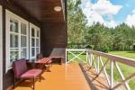 Ferienhütte mit Kamin für bis zu 5 Personen Nr. 1. Preis - 90 € pro Nacht - 5