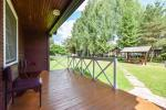 Triple holiday cottage. Price - 50 € per night - 2