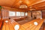 Pierwszy dom Sala bankietowa, sauna, kuchnia, sypialnie, wanna z hydromasażem, staw wodny z pomostem - 15