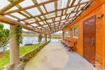 Pierwszy dom Sala bankietowa, sauna, kuchnia, sypialnie, wanna z hydromasażem, staw wodny z pomostem - 13